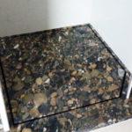 Raffael Hess-Stroch - Naturstein Dusche nach Maß aus Marinace Gold