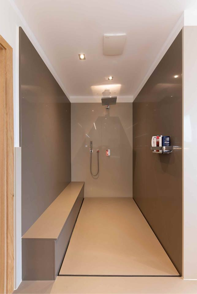 Lange Dusche Aus Stein