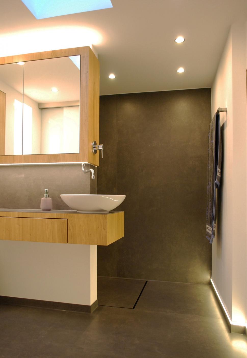 Badplanung - Aufteilung eines kleinen Bades mit Gäste WC - baqua