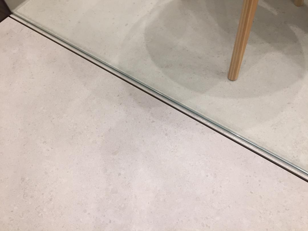 Fugenloser Duschboden Detail