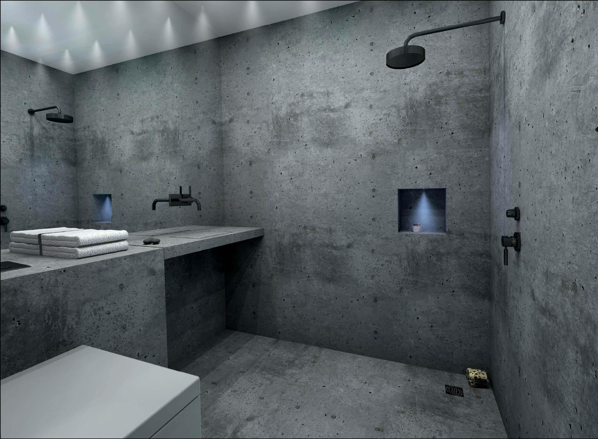 fugenlose duschen pflegeleicht und puristisch baqua. Black Bedroom Furniture Sets. Home Design Ideas