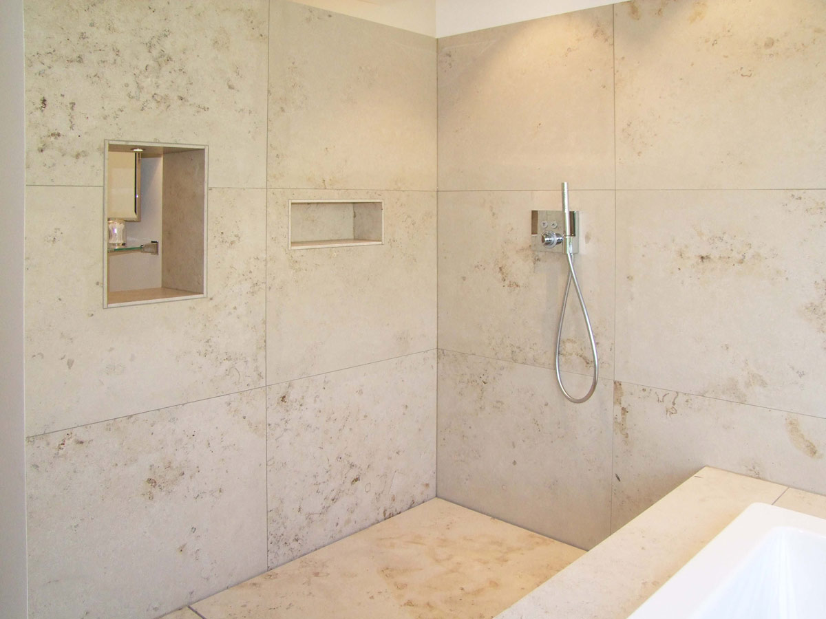 naturstein dusche beige12. Black Bedroom Furniture Sets. Home Design Ideas