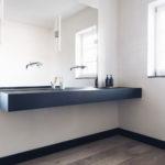 Design Waschtisch mit Doppelbecken