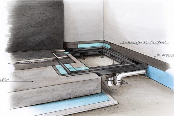 baqua Duschsystem - Einbauskizze_01