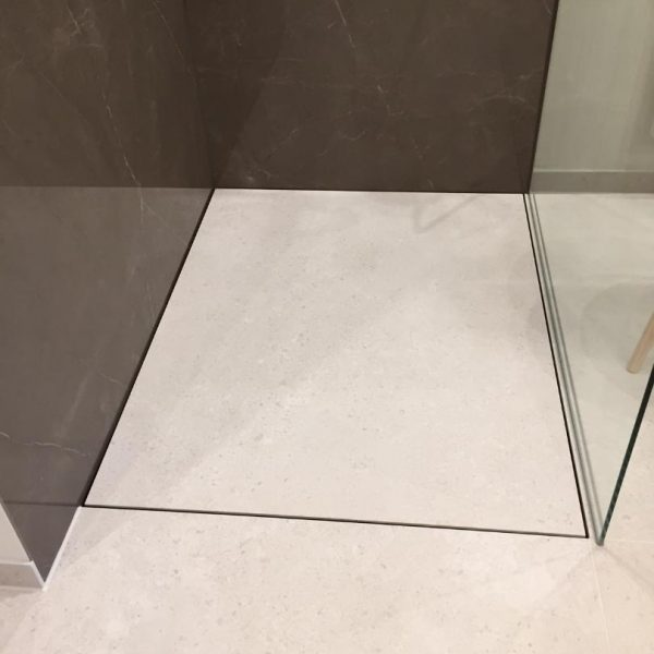 Fugenlose Dusche Details