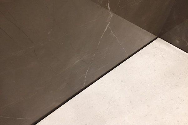 Dusche ohne Silikonfugen
